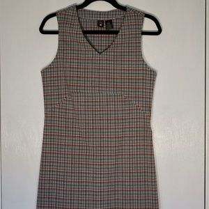 American eagle outfitters plaid skater dress